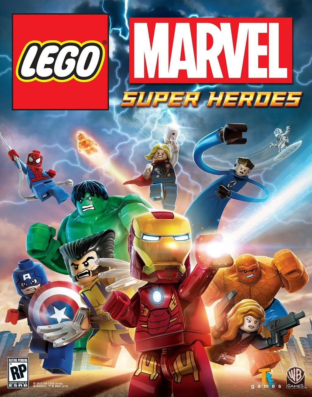 kickass lego marvel super heroes