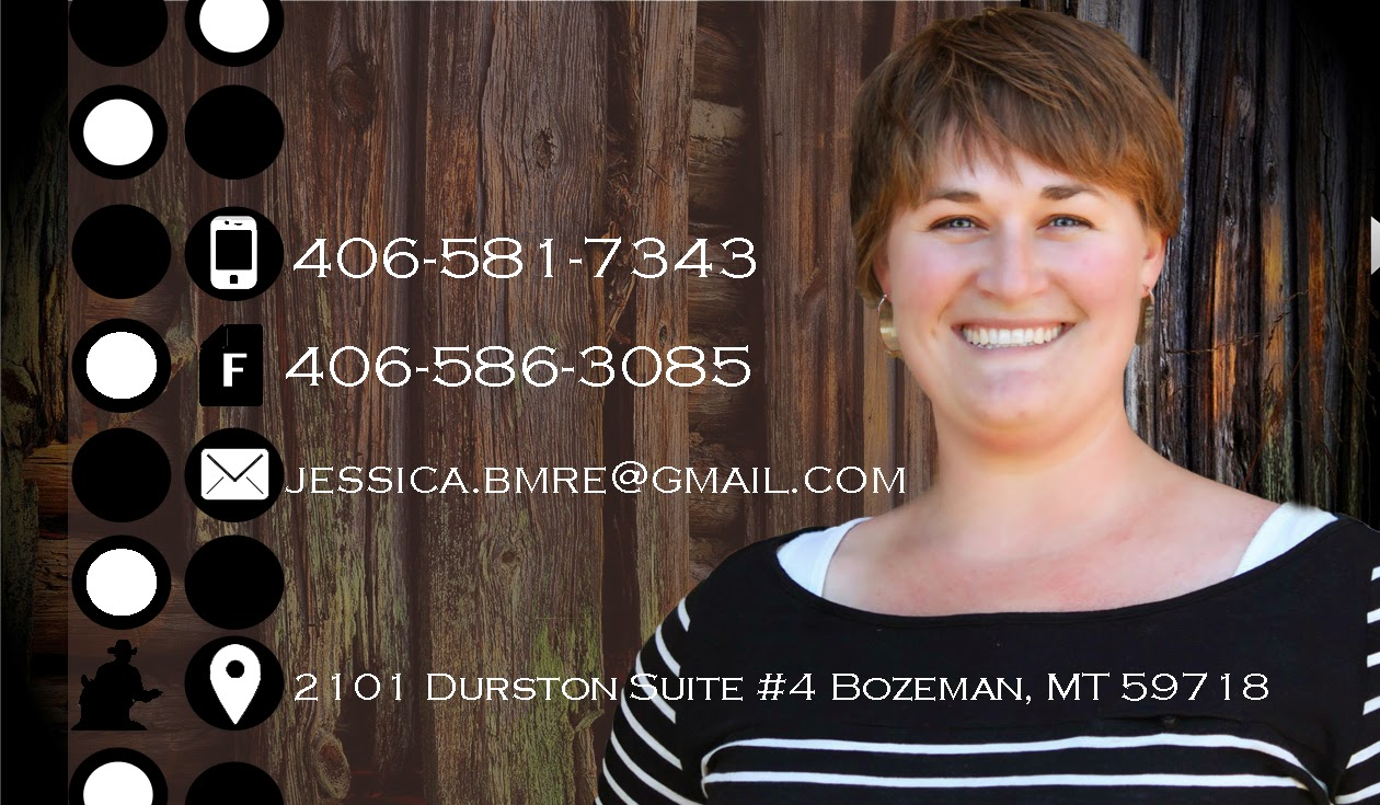Jessica DeJarlais, Bozeman Montana Real Estate .net