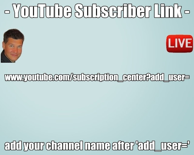 Gain more YouTube Subscribers for YouTube Live