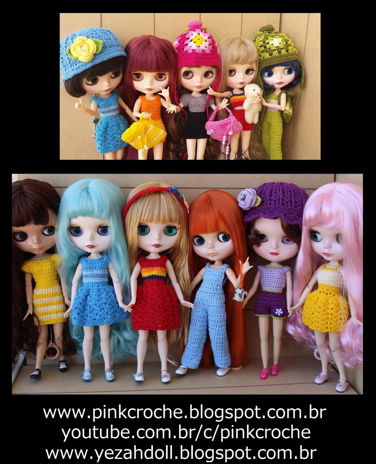 Veja minhas Blythe no Blog da Yezah Doll