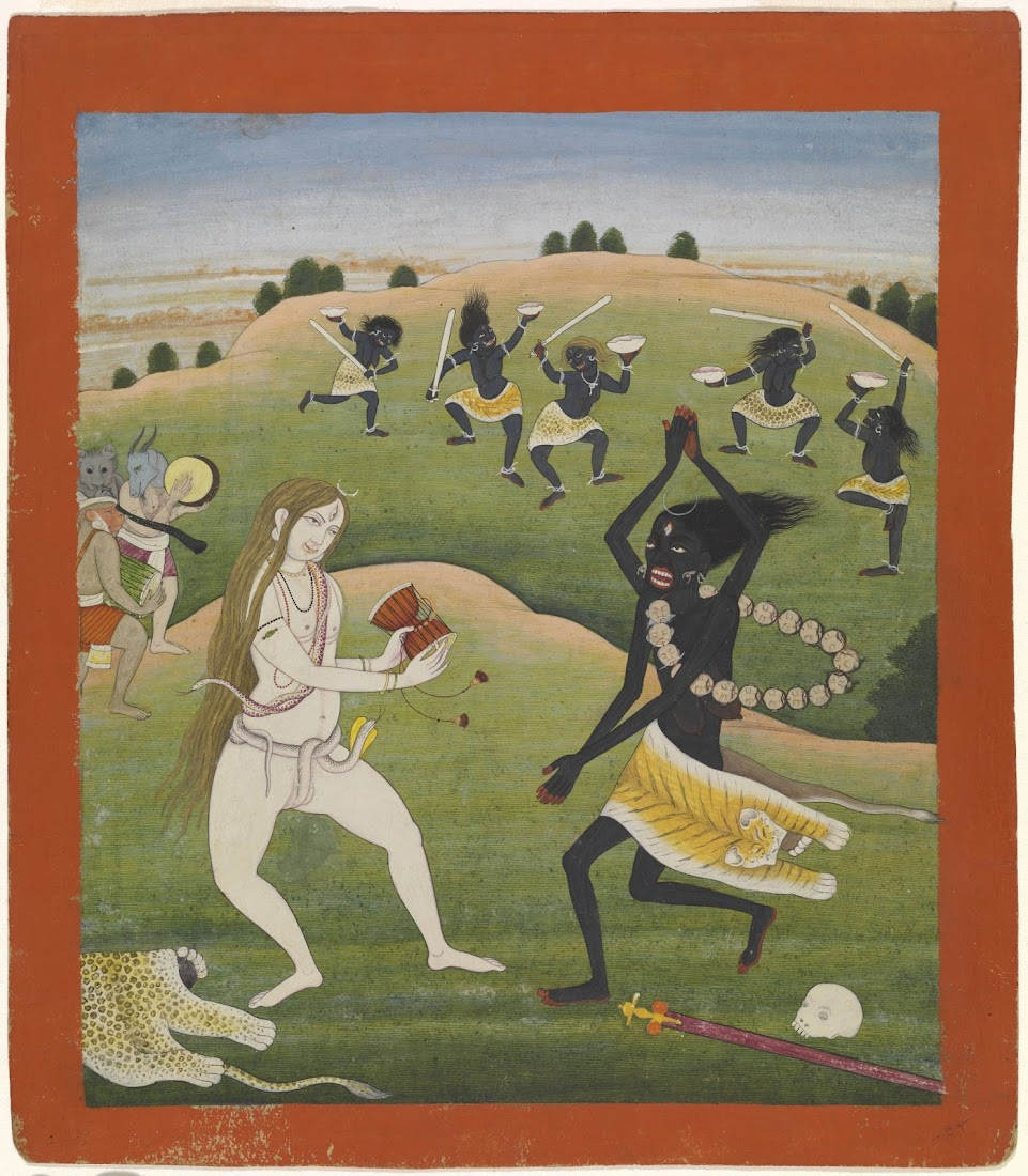 Dance of Shiva and Kali, 18th-19th Century