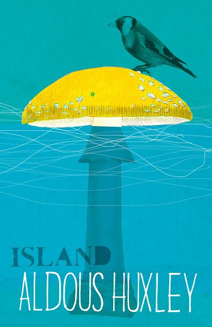Briony Firth Illustration Aldous Huxley Island