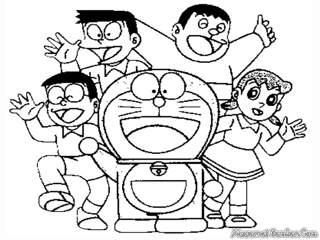 Doraemon Coloring Pages Printable Coloring Pages