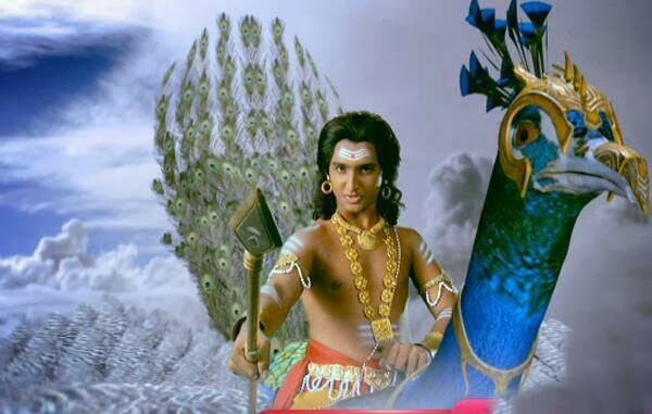Rushiraj Pawar as Karthikayan in Kailasanathn Serial