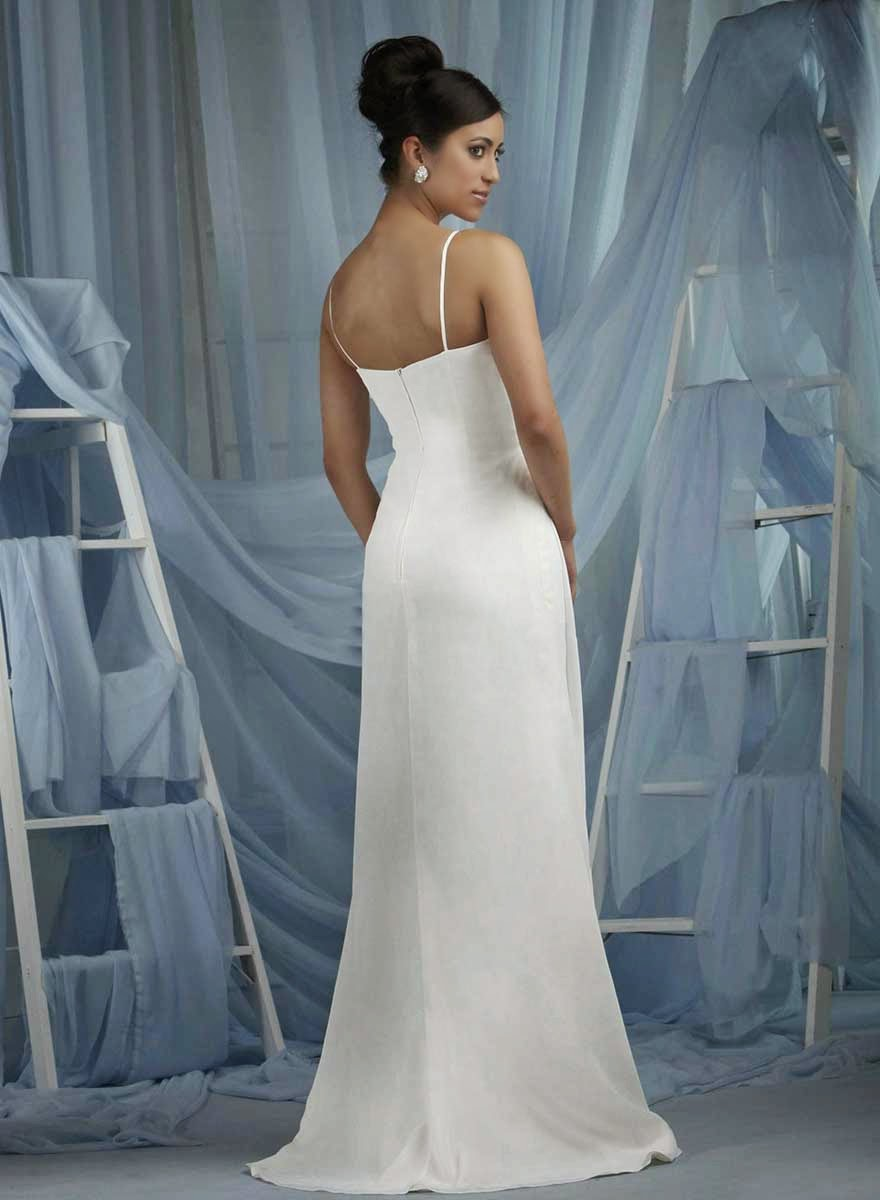 White Wedding Dresses with Straps Photos HD Concepts Ideas