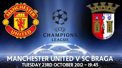rekod manchester united di uefa champions league