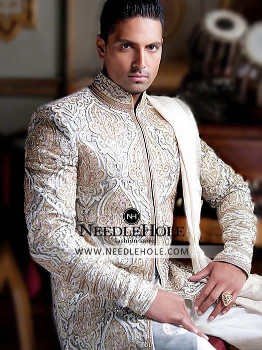 Perfect Wedding Sherwani Dress By Junaid Jamshed USA | Bespoke ...