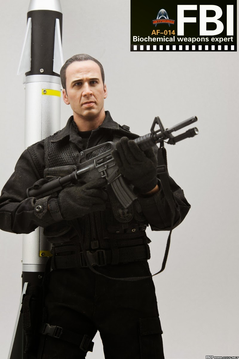 onesixthscalepictures: Art Figures FBI Biochemical Weapons ... Fbi Combat Uniform