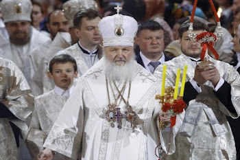 el patriarca Kiril jefe de la Iglesia Ortodoxa Rusa habló de Chernovil