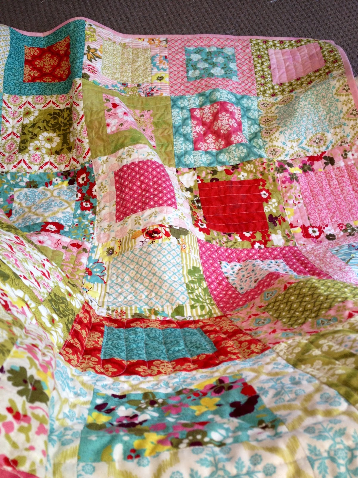 Ann Ferguson Quilts: Hello Luscious Layer Cake