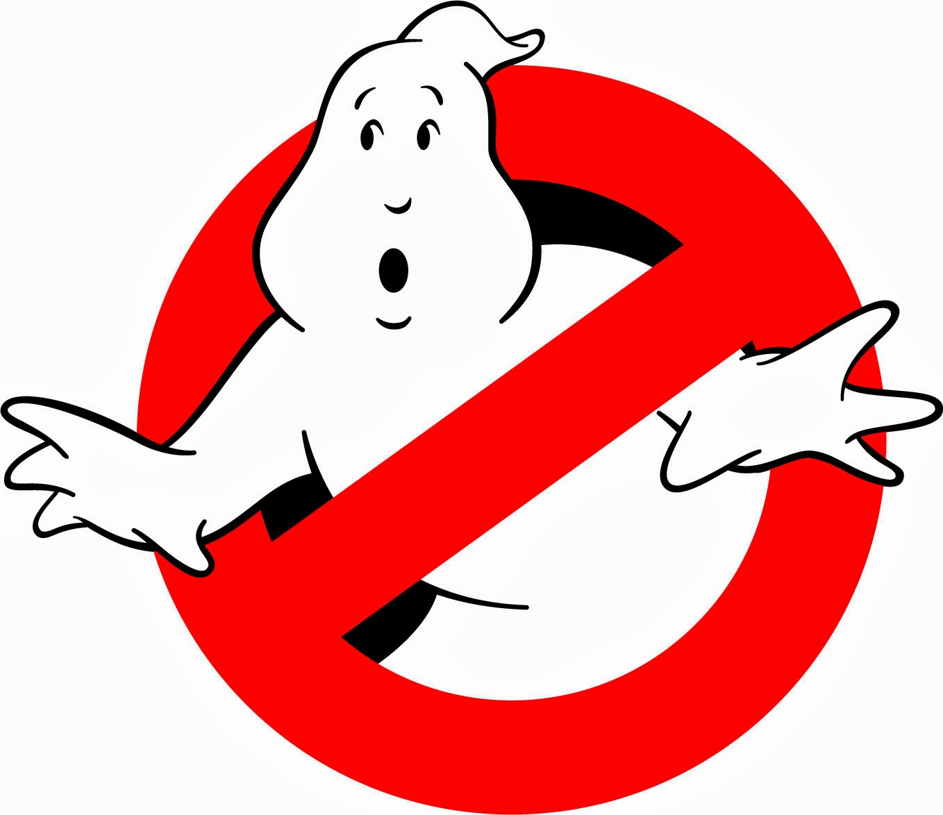Genius image inside ghostbusters logo printable
