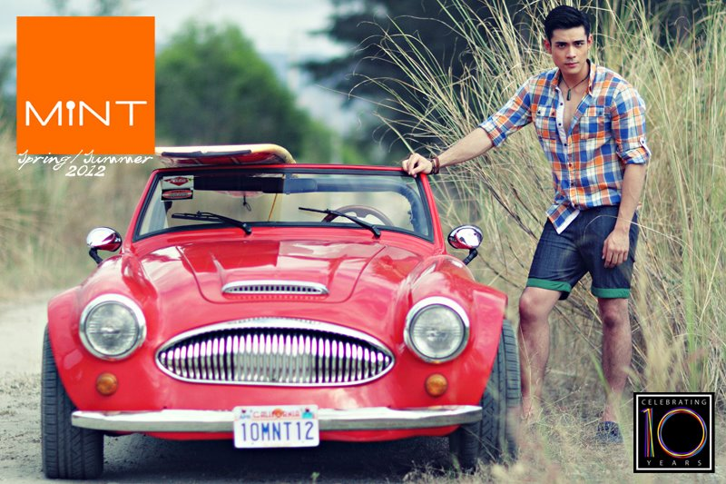 Xian Lim for Mint Spring-Summer 2012