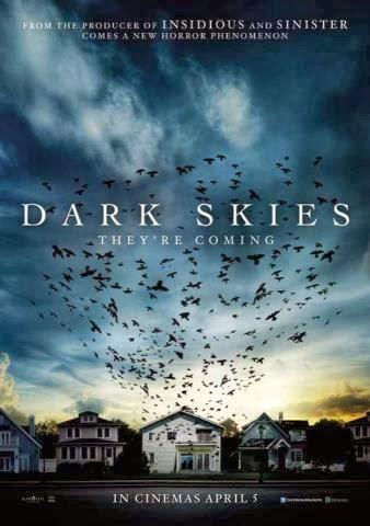 Dark Skies Review Poster Alien Abduction Movie