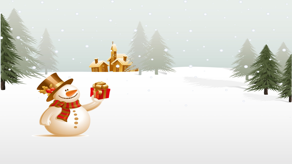 Free download christmas snowman hd wallpapers for iphone 5 free hd