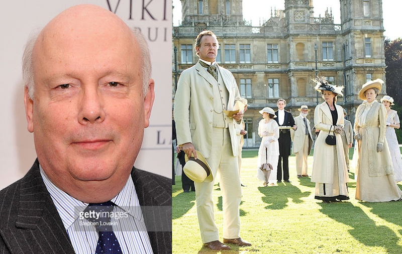 Downton Abbey Shufu☺ : ダウントン・アビー企画・脚本・製作総指揮【ジュリアン・フェロウズ】の人生がまさにダウントンだった!!