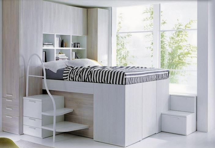 Arredamenti Ballabio Lissone: Container Il letto con l'armadio sotto,