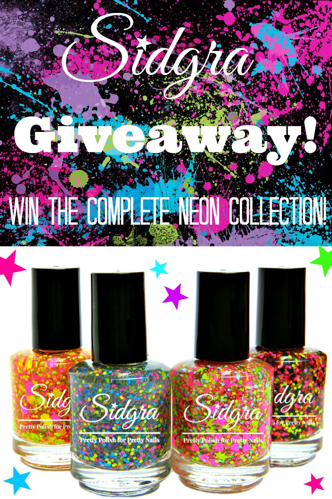 Sidgra's June Giveaway | www.SpicyPinkInspirations.com