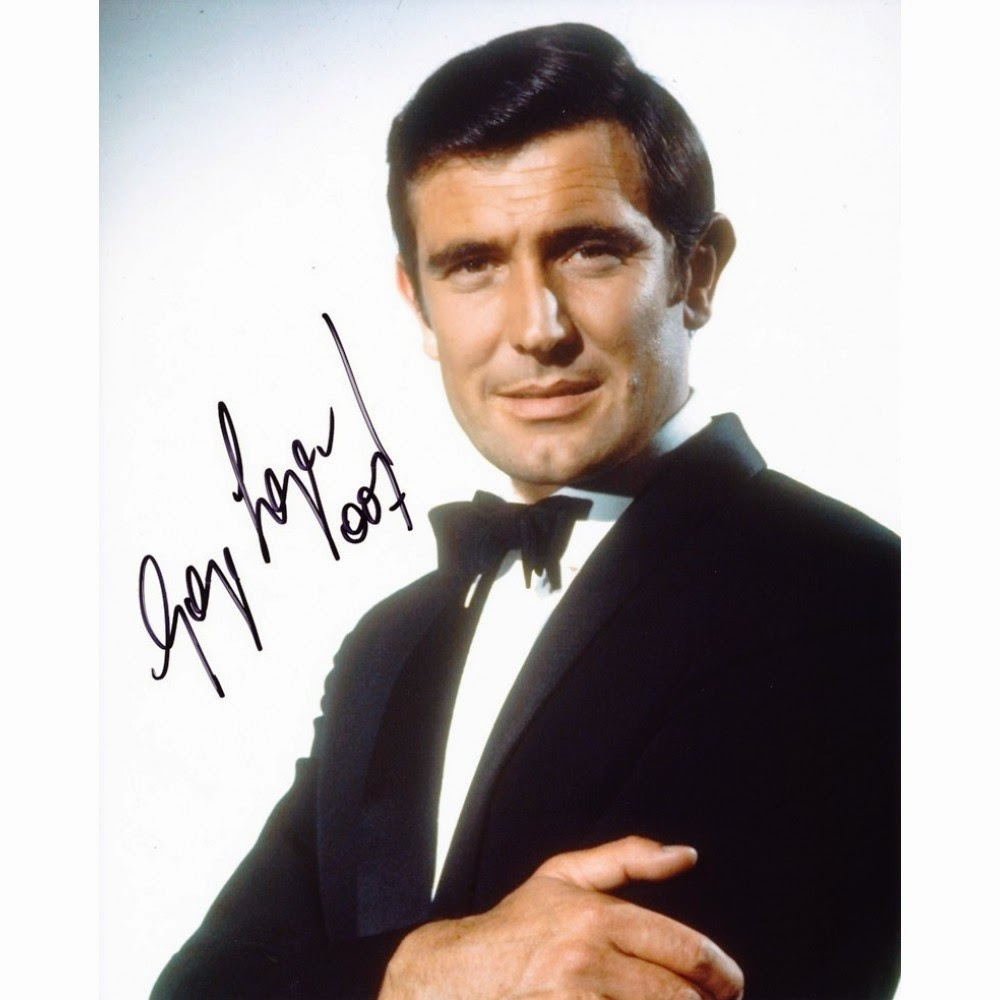 Who : GeorgeRob... George Lazenby James Bond