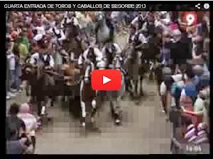 CUARTA ENTRADA DE TOROS JUEVES 2013
