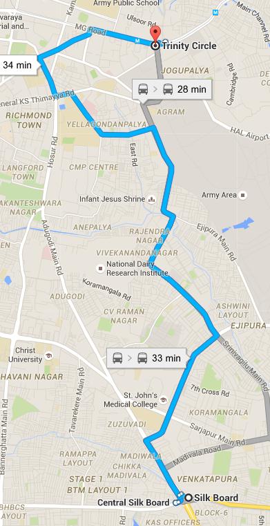 Bangalore routes pc google maps india gumiabroncs Images
