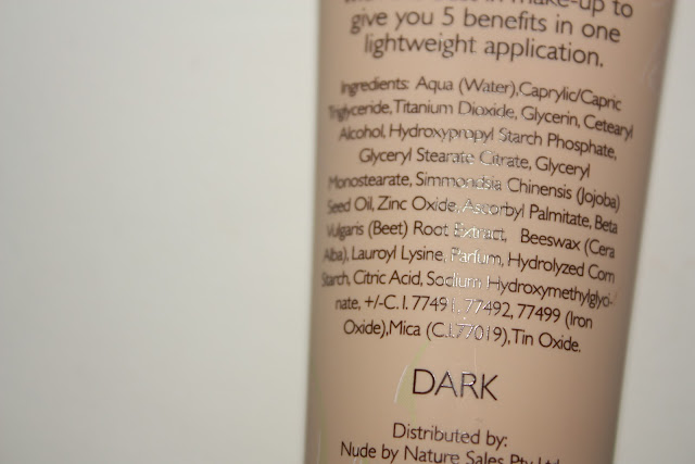 beautybymaddyx: Nude by Nature: BB Cream Review