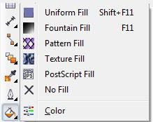 Fungsi-Fungsi Toolbox pada CorelDraw