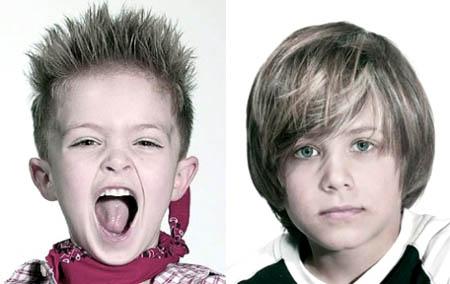 Peinados al Extremo: Cortes de pelo y peinados para niños 2011/2012