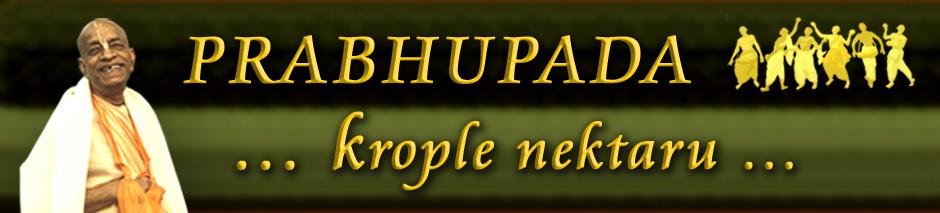Krople Nektaru Prabhupady