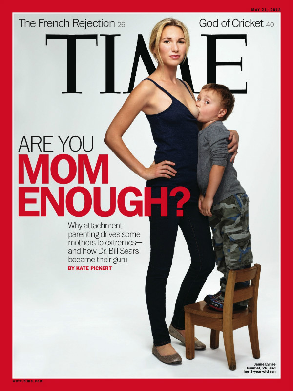 Our Daily Treasures: Time Magazine's breastfeeding cover