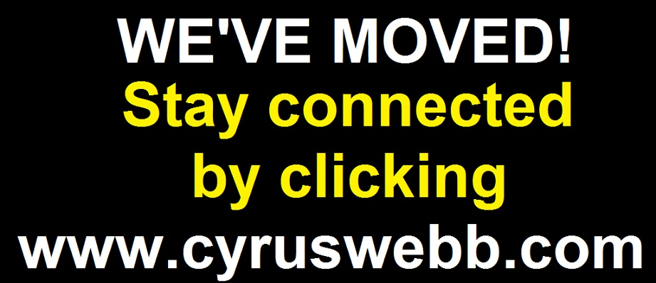 We've moved to www.cyruswebb.com. Click below to visit our new site.