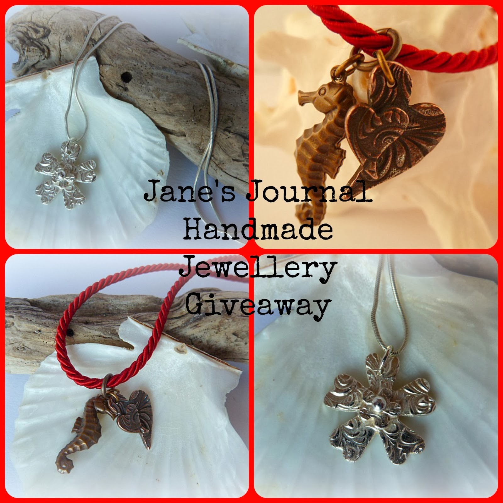 Jane's Journal Giveaway...