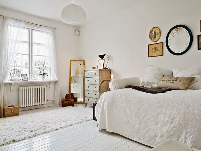 Quarto n rdico no pinterest quarto escandinavo - Decorar casa estilo nordico ...