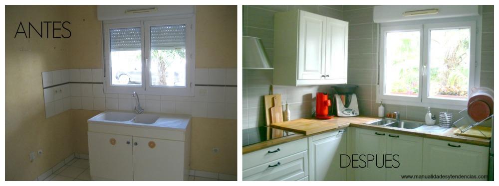 Manualidades y tendencias: Remodelación de mi cocina / Home tour ...