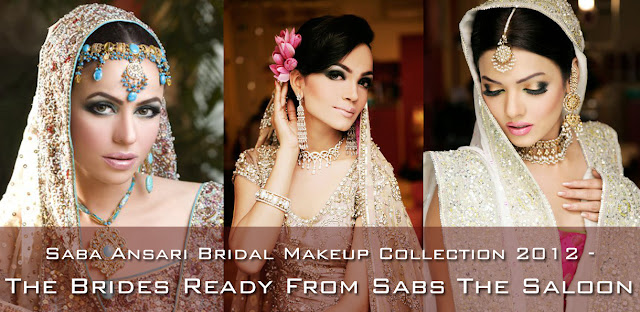 Saba Ansari Bridal Makeup Collection 2012