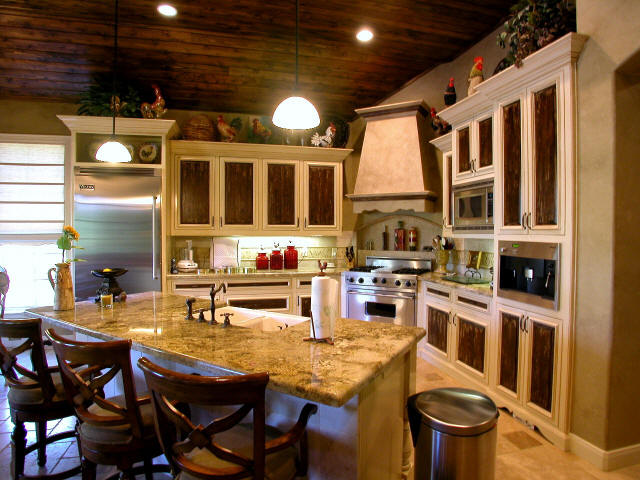 Ez decorating know how home kitchen design go all the for Gourmet kitchen designs