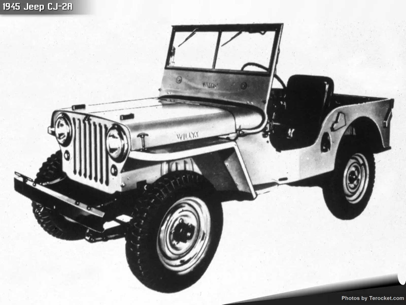 Hình ảnh xe ô tô Jeep CJ-2A 1945 & nội ngoại thất