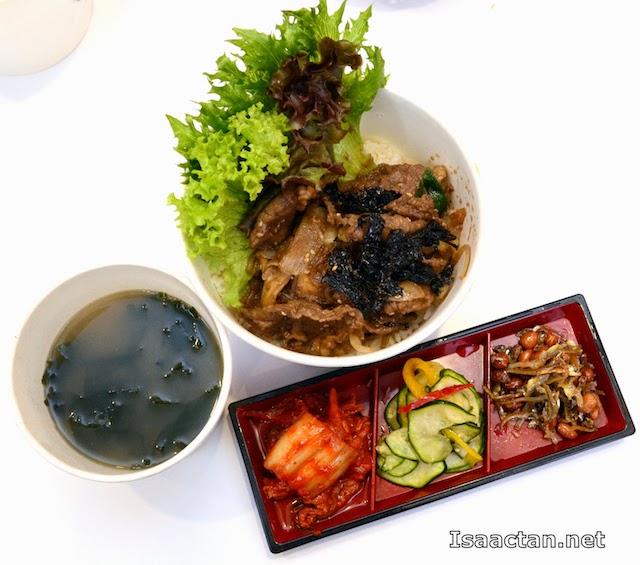 Bulgogi Daebap Beef Set - RM 12.90