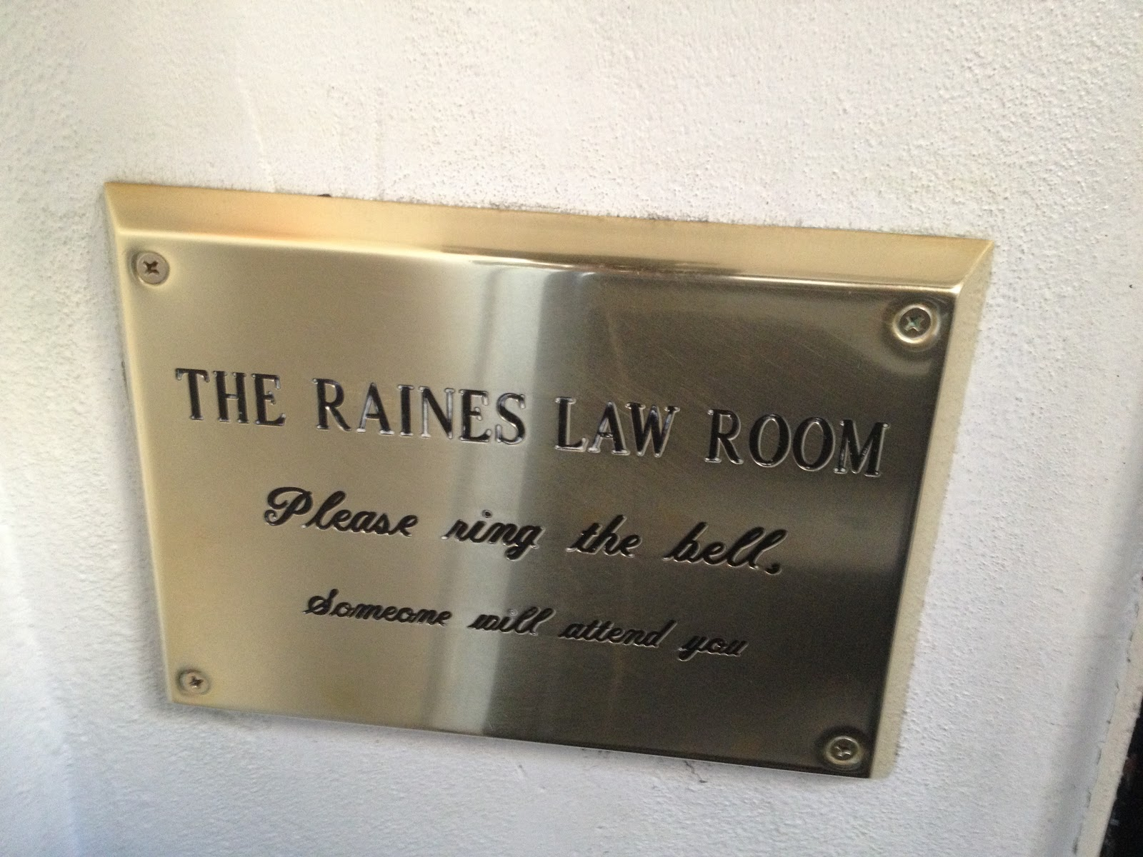 Mystery Playground: New York City Speakeasy: The Raines Law Room