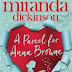 Book Review: A Parcel for Anna Browne by Miranda Dickinson