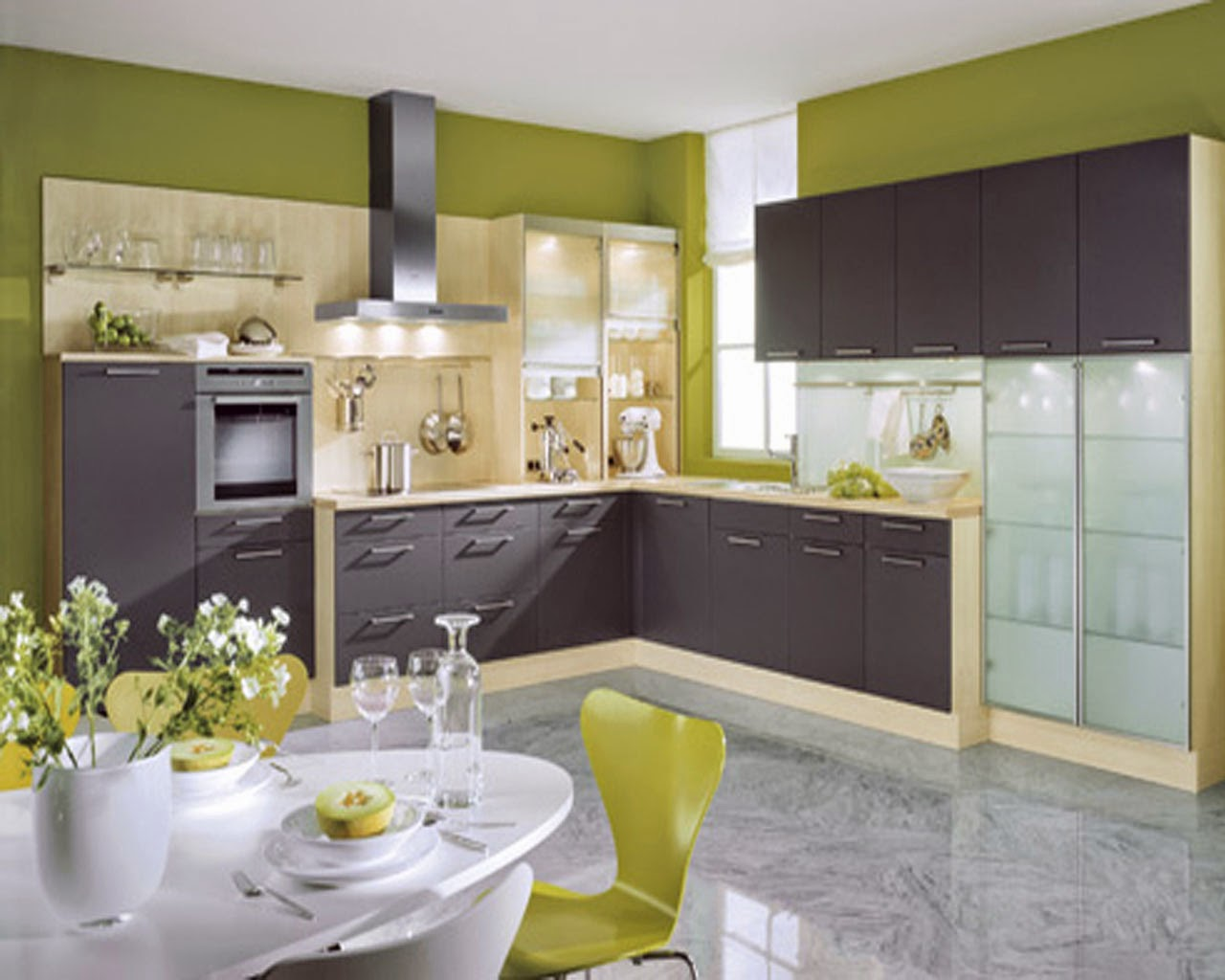 Kitchen designing ideas 2014 freshnist design for Kitchen decoration designs