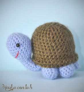 Herika con la h - herigurumi amigurumi tartaruga