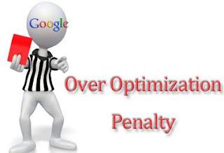 Hukuman Over Optimization bisa membuat traffic blog drop ke titik nadir