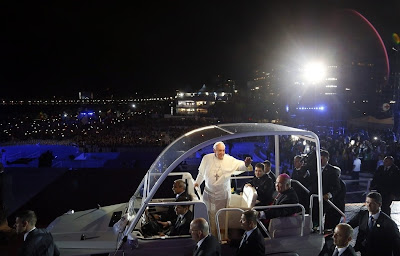 Pope Francis at World Youth Day