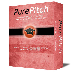 Master Absolute Pitch and Relative Pitch in less than 6 weeks! The complete Pure Pitch training kit