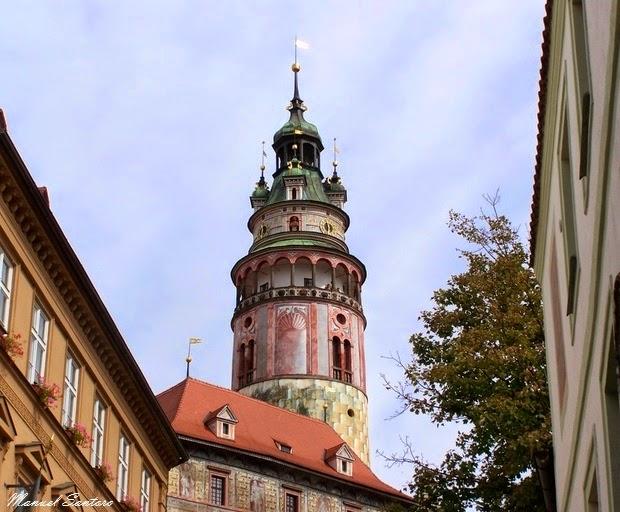 Cesky Krumlov, torre del castello