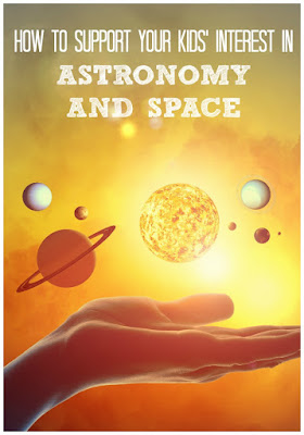 Activities and resources for young space and astronomy lovers
