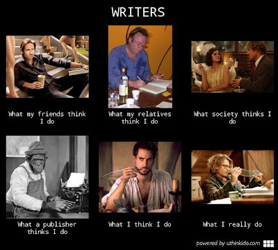 writers what I actually do