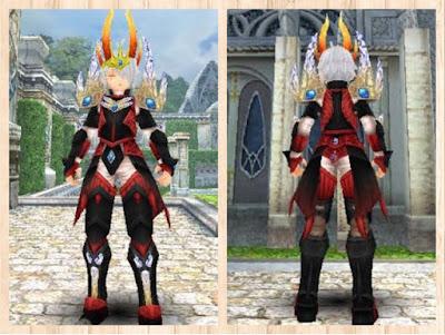 蛮竜の鎧黒1+赤2+白3 重量化