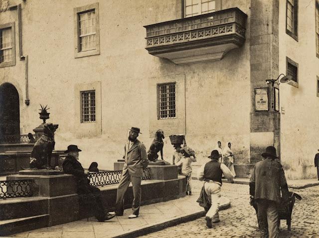 imagen nº 08652, propiedad del archivo de fotografía histórica de la FEDAC/CABILDO DE GRAN CANARIA. realizada entre los años 1900 y 1905.