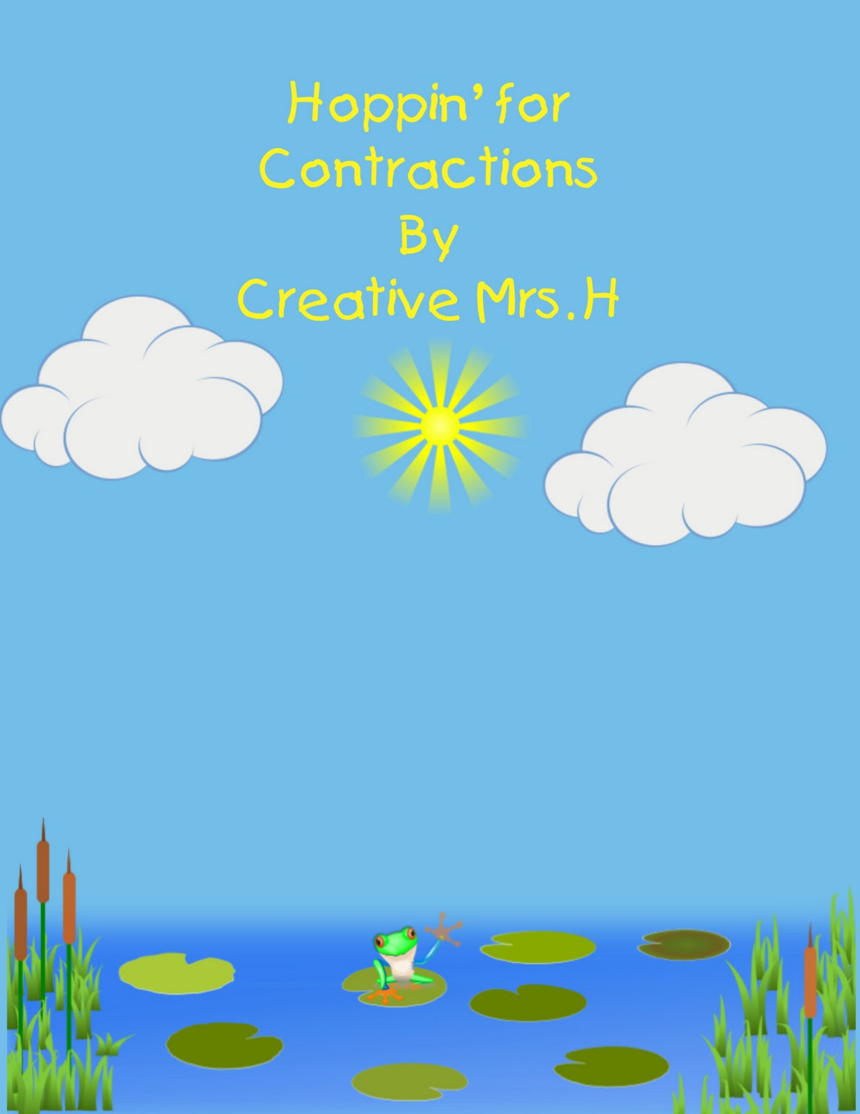 how to teach contractions to second graders